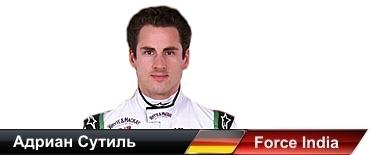 Адриан Сутиль (Германия), Force India